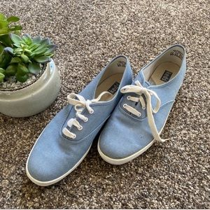 🆕KEDS Casual Lace Up Shoes Blue